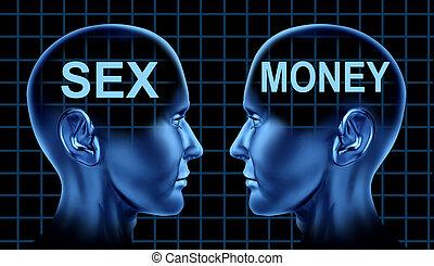 dinero, sexo