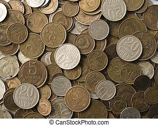 dinero, soviético