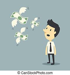 dinero, vuelo