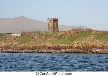 Dingle Watchtower - The Watchtower at the Entrance to Dingle...