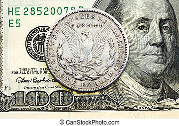 dinheiro, americano