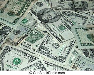 dinheiro americano