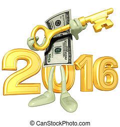 dinheiro, ano