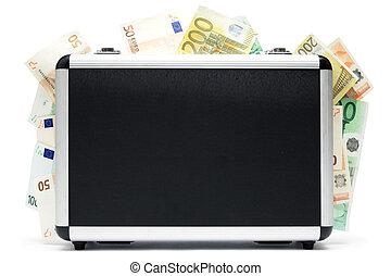 dinheiro, bagagem