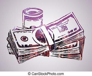 dinheiro, conceito