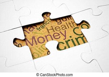 Dinheiro, conceito, saúde