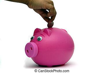 dinheiro, depositar