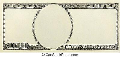 dinheiro, desenho, fundo, em branco