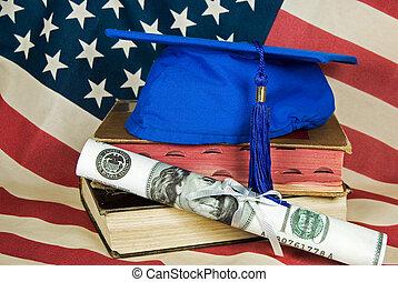 dinheiro, diploma
