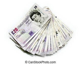dinheiro, inglês