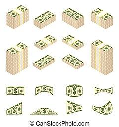 dinheiro, jogo, casca