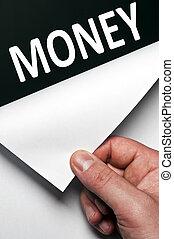 dinheiro, palavra
