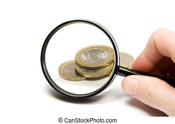 dinheiro, procurar
