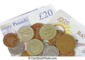 dinheiro, reino unido