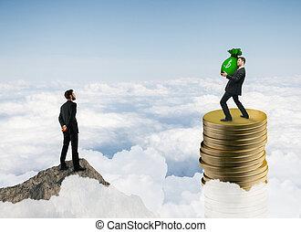dinheiro, riqueza, finanças