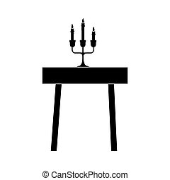 dining table icon image