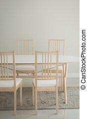 dining table modern living room