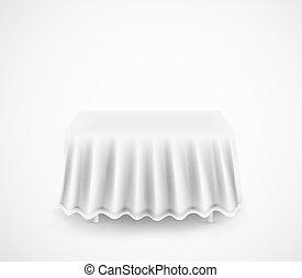 Rectangel dining table. Eps 10