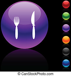 Dinner  icon.