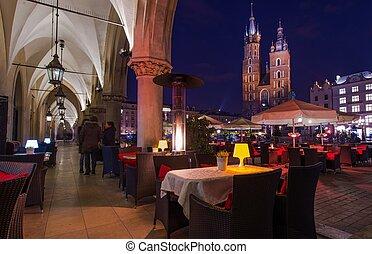 Dinner in the Krakow