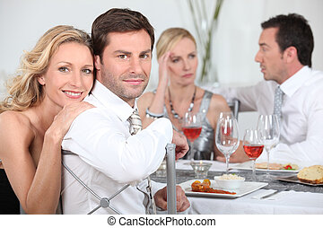 Dinner party discussions