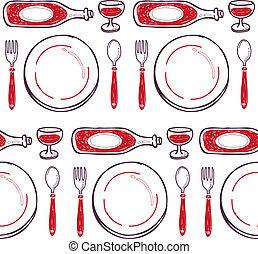 dinner pattern