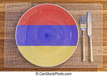Dinner plate for Armenia