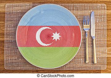 Dinner plate for Azerbaijan