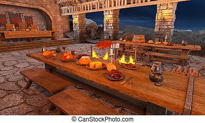 Dinner venue