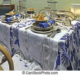 dinning, salle, détail