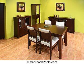 dinning, salle, intérieur