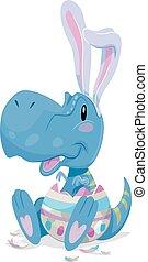 Dino Tyrannosaur Easter Egg
