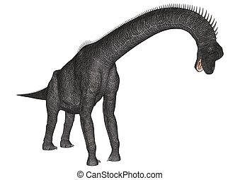 Dinosaur Brachiosaurus - 3D digital render of a dinosaur...