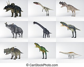 Dinosaur collection part one