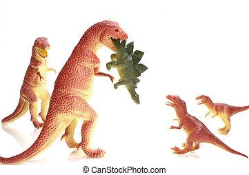 Dinosaur Family Dinner