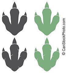 Dinosaur Footprint Collection