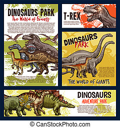 Dinosaur jurassic dino monster animals