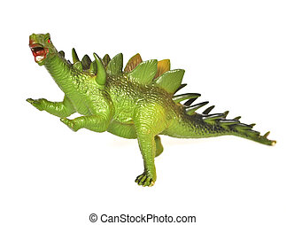 Kentrosaurus - Dinosaur-Kentrosaurus on white background