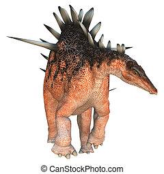 Dinosaur Kentrosaurus - 3D digital render of a dinosaur...