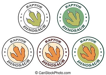 Dinosaur Paw With Claws Collection