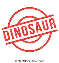 Dinosaur rubber stamp