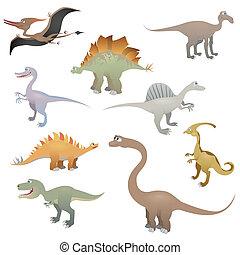 Dinosaur set 2