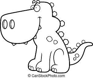 Dinosaur Smiling