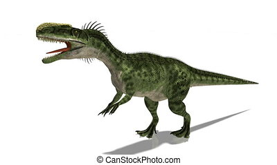 dinosaur - walking dinosaur