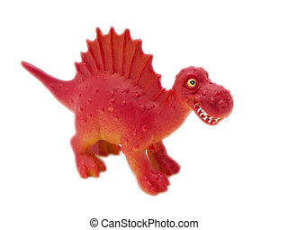 Dinosaur toy - Spinosaurus - prehistoric era dinosaur on...