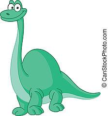 dinosaure, brontosaure