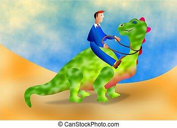dinosaure, business