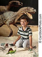dinosaurie, pojke