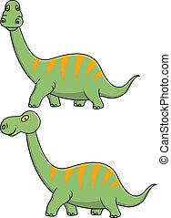 dinosaurierer, karikatur