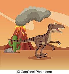 dinosaurierer, wald